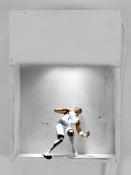 Adam Taye Quorum Wood, action figure, lamp