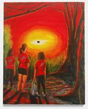Amanda Lechner Current Paintings egg tempera on panel