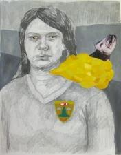 Amanda Lechner Works on Paper: 2009-2010 Graphite, Gouache on Paper