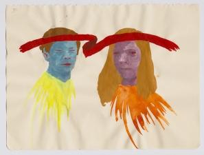 Amanda Lechner Works on Paper: 2009-2010 Gouache on Paper