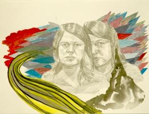 Amanda Lechner Works on Paper: 2009-2010