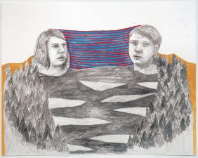 Amanda Lechner Works on Paper: 2009-2010 Graphite, Gouache, Acrylic on Paper