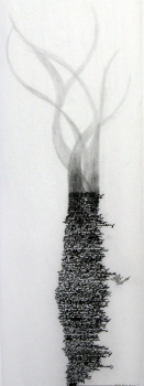 Anne Gilman Multi-panel Scrolls pencil on paper