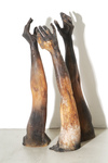Arlene Rush Hands  Fingers                                                               Arms Resin, fiberglass, acrylic, ferric nitrate and cement