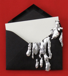 Arlene Rush Evidence Of Being Linen paper, museum board, digital print, resin, silver leaf, wax, acrylic and wood