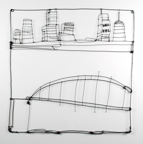 Wire Drawings Cityscape II