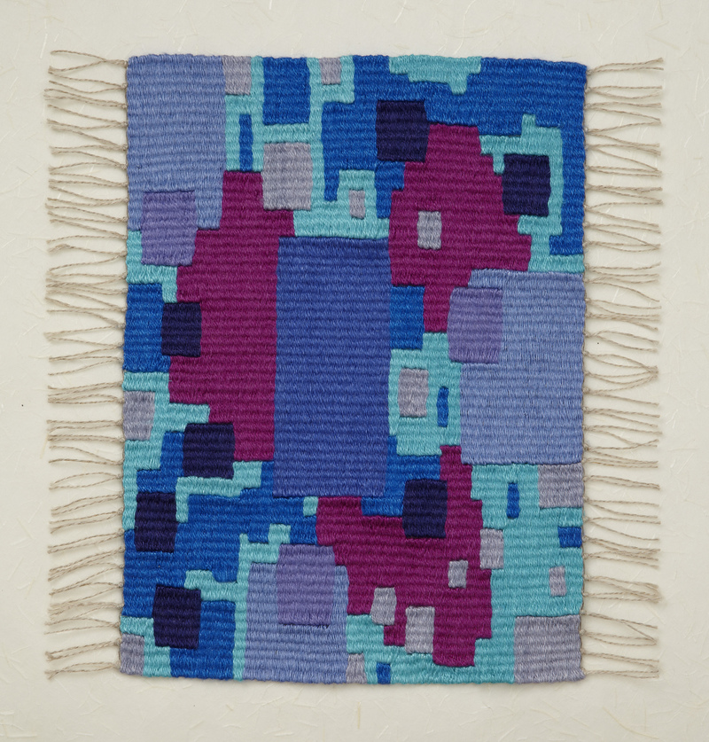 Berit Engen Tapestries                          WOOF and D'RASH - Weaving the Jewish Experience  The Talmud I
