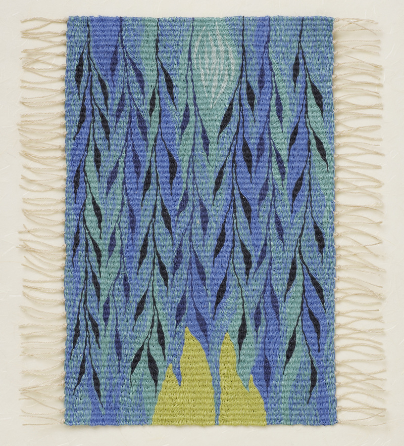 Berit Engen Tapestries                          WOOF and D'RASH - Weaving the Jewish Experience  Exile I