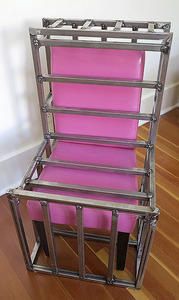 Bruce Rosensweet FURNITURE Welded steel, chair