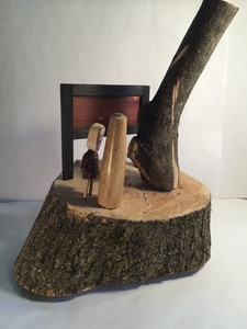 Bruce Rosensweet FIREWOOD Wood, photo, found objects