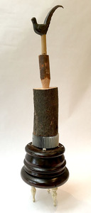 Bruce Rosensweet TOTEMS Log, found objects