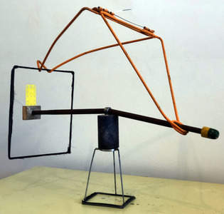 Bruce Rosensweet NEW WORK Found objects