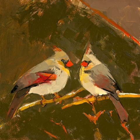PORTRAIT/FIGURE Cardinals (Valentine)