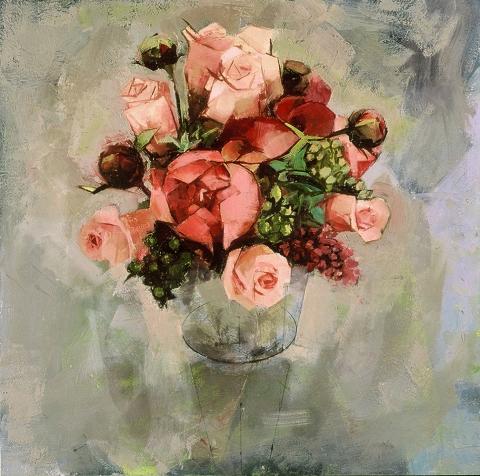 STILL LIFE Pink bouquet