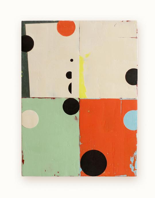 Celia Johnson Paintings 2011 - 2012 Encaustic & alkyd on wood panel