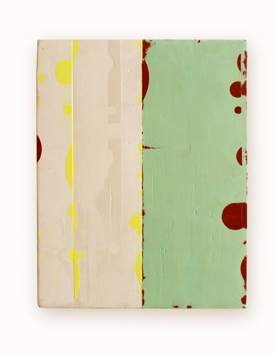 Celia Johnson Paintings 2011 - 2012 Encaustic & alkyd on wood panel