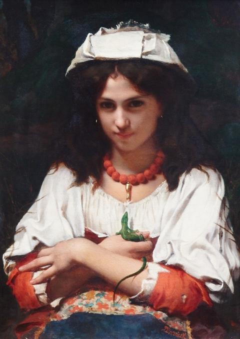 CLARKE GALLERY  Oil on Canvas