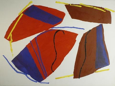 CLARKE GALLERY  Acrylic on Heavy Paper