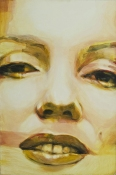 clive jacobson Face Series oil on panel