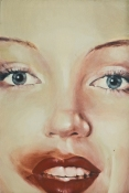 clive jacobson Face Series oil on canvas