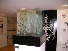 Danica Novgorodoff <b>Design & Illustration</b> Sandblasted glass
