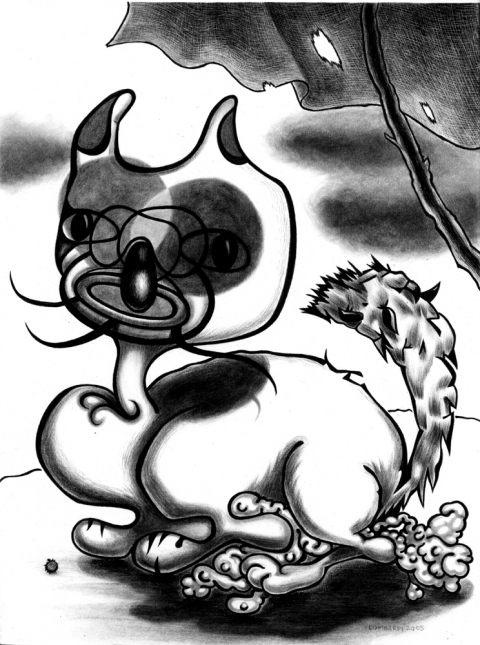 Post Apocalyptic Tattoo World  1998-2008 (images) Kitten