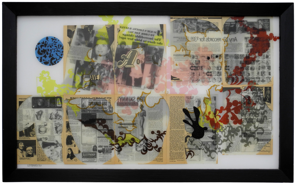 Reverse Collage 1995-1998 (images) Reverse Collage #26
