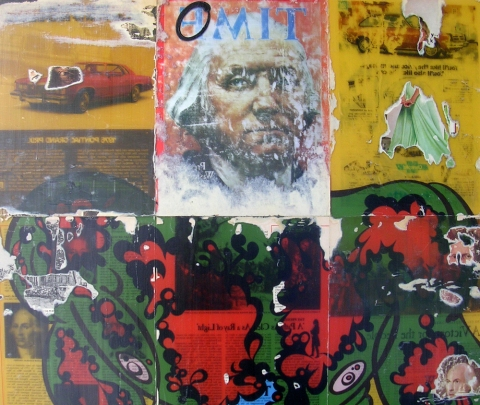 Reverse Collage 1995-1998 (images) Reverse Collage #29 (detail)