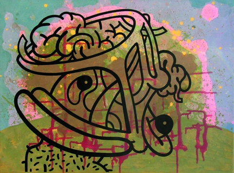Graffoos 2006-2009 (images) Tattooed Landscape #26