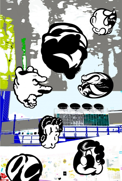 Graffoos 2006-2009 (images) Tattooed Tokyo #12