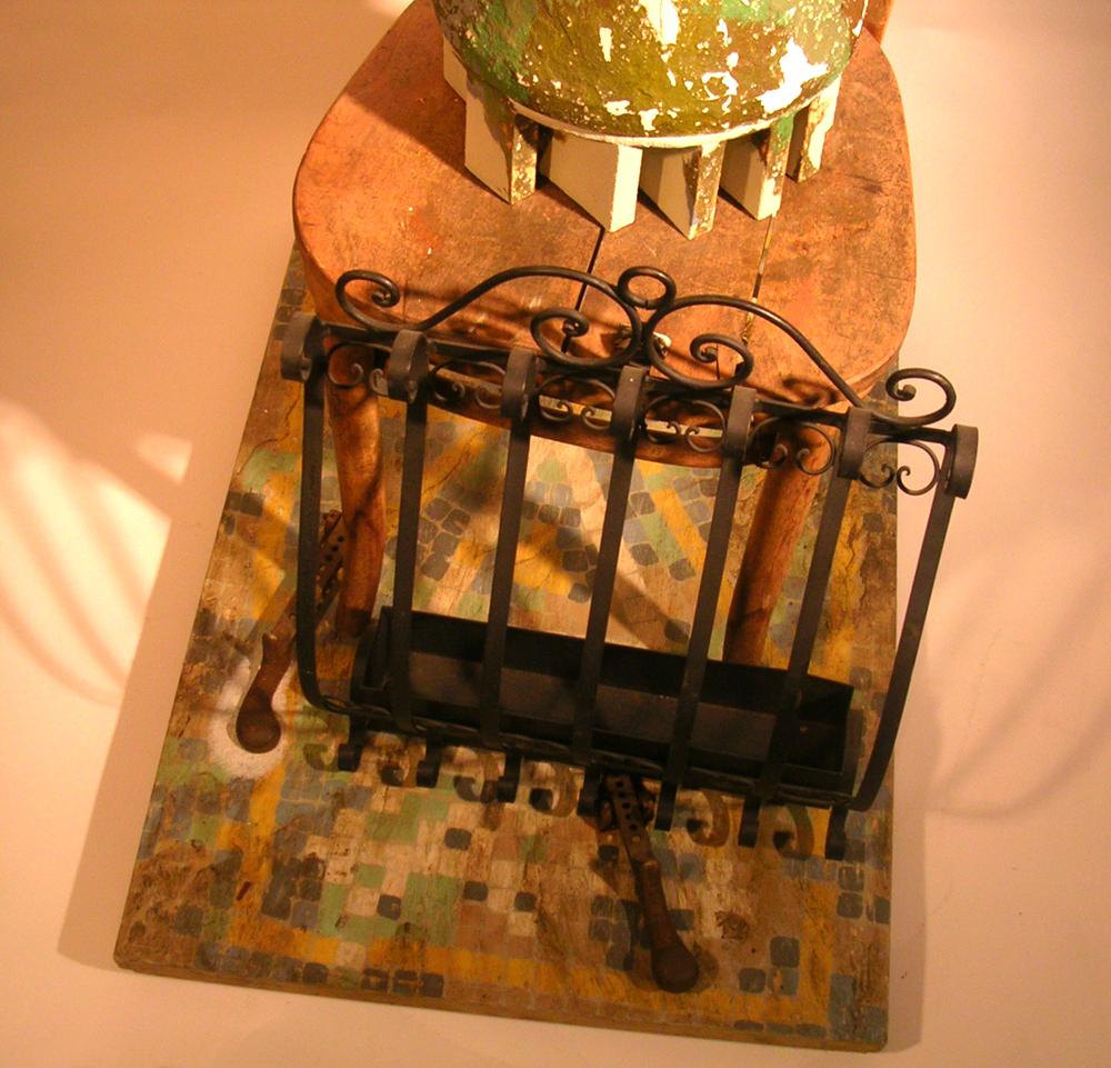 Vessel Series 1993-1994 (images) Vessel Assemblage #5 (Frida) (detail)