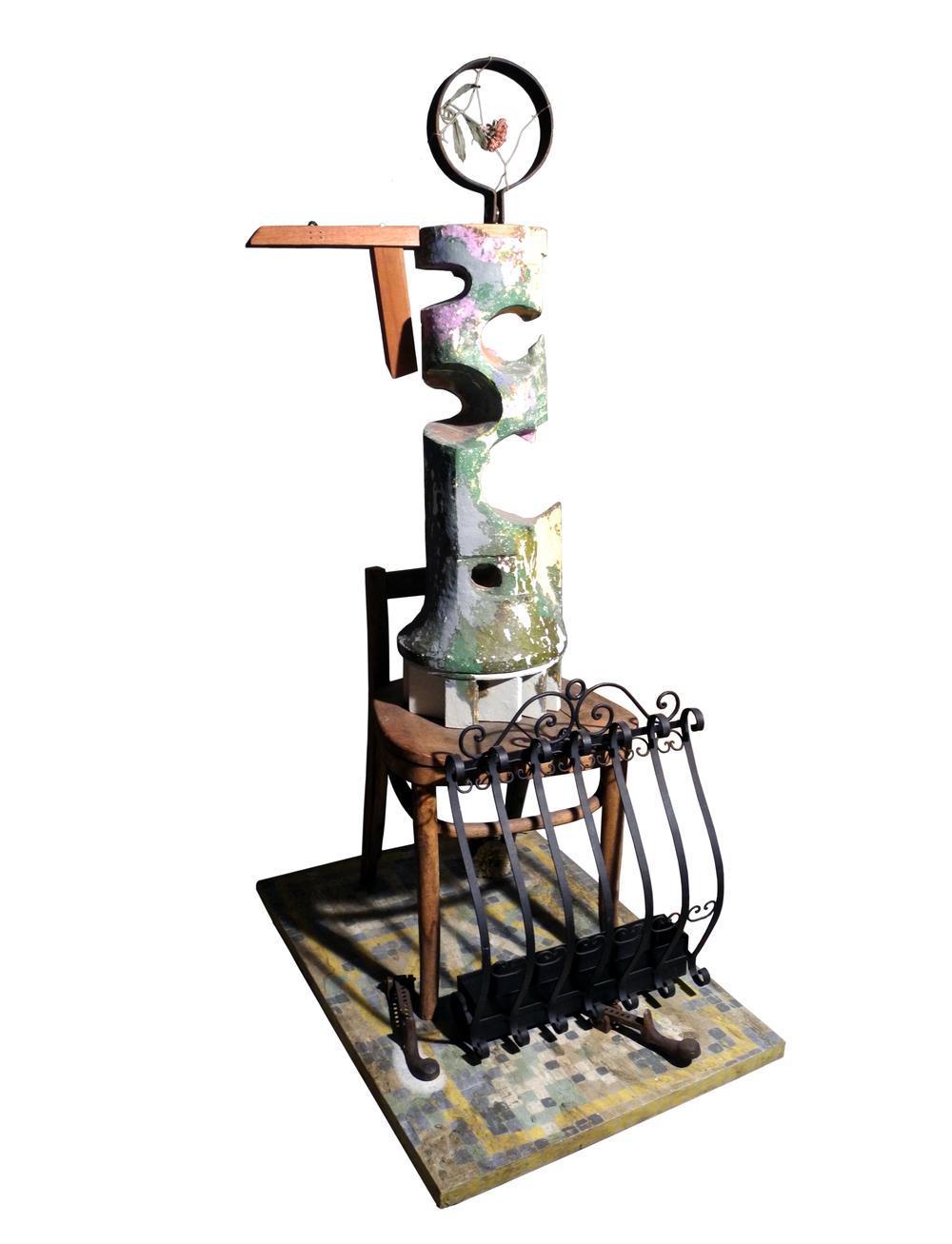 Vessel Series 1993-1994 (images) Vessel Assemblage #5 (Frida)