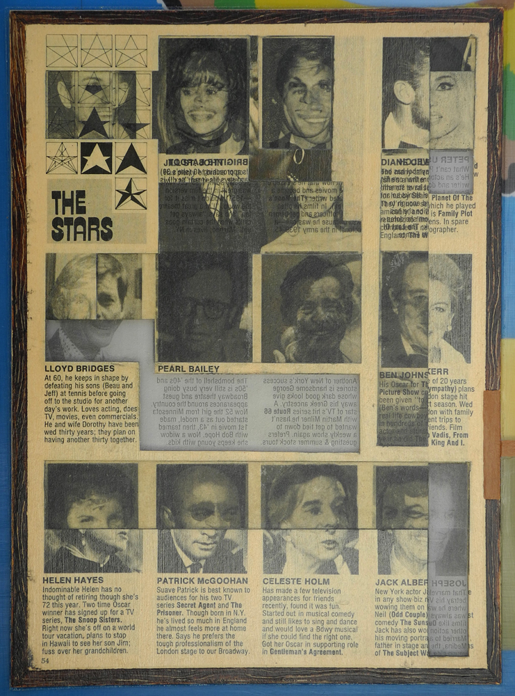 Reverse Collage 1995-1998 (images) Reverse Collage #19 (detail)