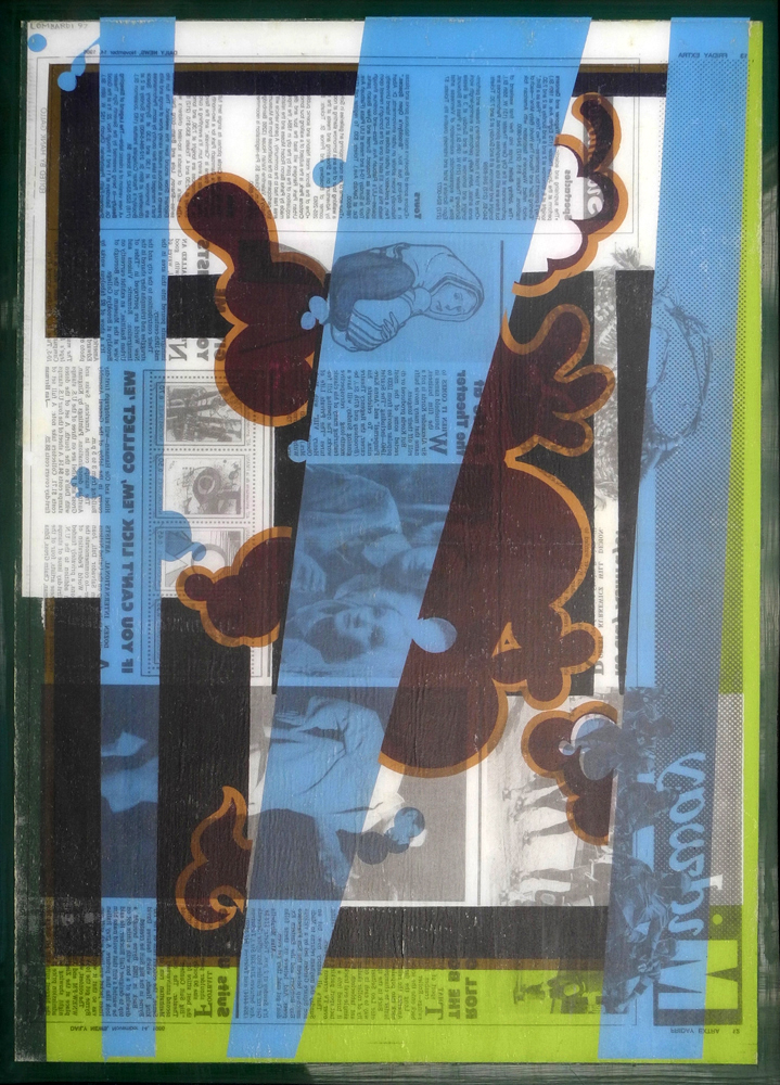 Reverse Collage 1995-1998 (images) Reverse Collage #23