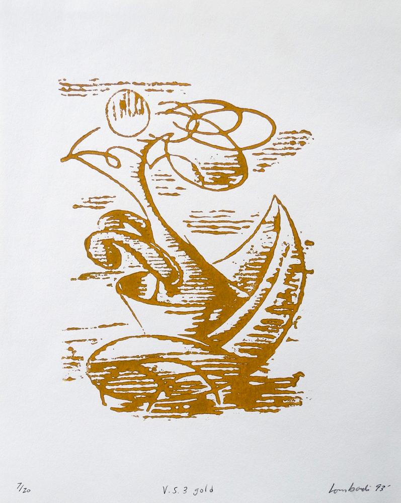 Vessel Series 1993-1994 (images) V.S. 3 gold