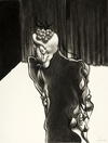 Post Apocalyptic Tattoo World  1998-2008 (images) charcoal on acid free board