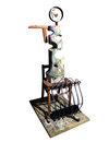 Vessel Series 1993-1994 (images) mixed media wood sculpture