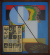 Reverse Collage 1995-1998 (images) Acrylic and transferred vintage magazine ink and paper on Plexiglas