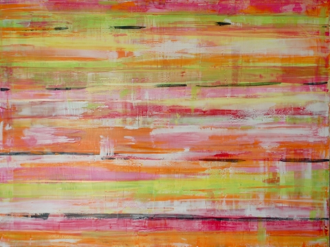 2011 Collection Venetian plaster with acrylic on wood panel.