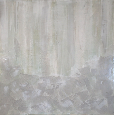 2011 Collection Venetian Plaster with acrylics on wood panel.