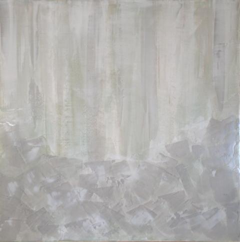 2011 Collection Venetian Plaster with acrylics on wood panel.