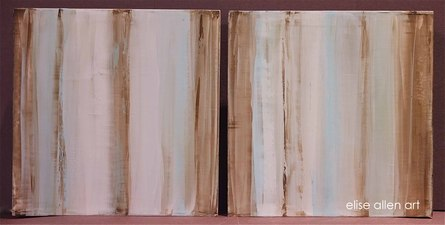 2013 Collection Venetian plaster with acrylics on wood.