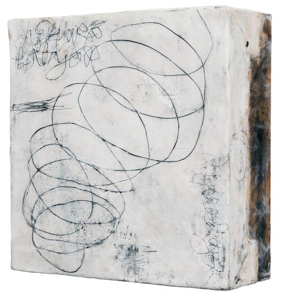 ELIZABETH HARRIS  Entanglement 15, side view<br/>