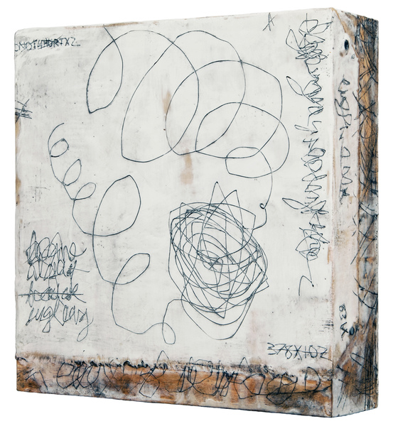 ELIZABETH HARRIS  Entanglement 20, side view<br/>