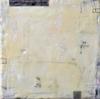 ELIZABETH HARRIS  Encaustic, lead and charcoal on panel<br/>
