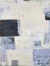ELIZABETH HARRIS  Encuastic, lead, and graphite on panel<br/>