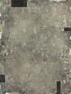 ELIZABETH HARRIS  Encaustic, lead, aluminum leaf, and marble dust on panel<br/>