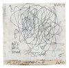 ELIZABETH HARRIS  Encaustic and graphite on canvas and wood panel<br/>