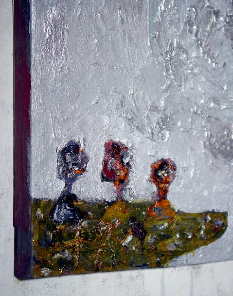 New Work Byzantium- Detail