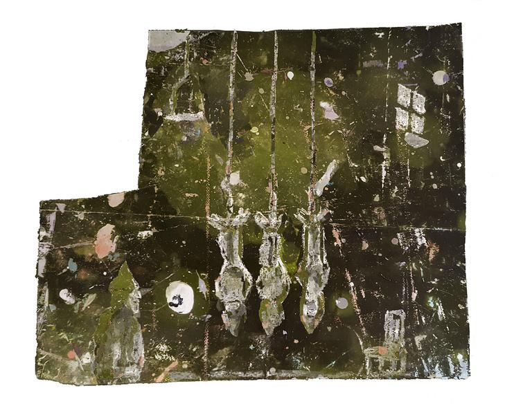 Works On Paper Hanged Men
